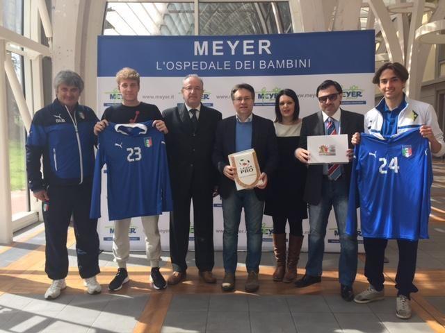 Con la Nazionale di Lega Pro U19 al Meyer di Firenze